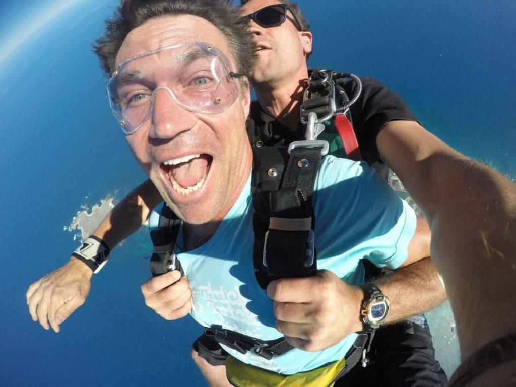 Pat Cash Skydiving at Skydive Geronimo