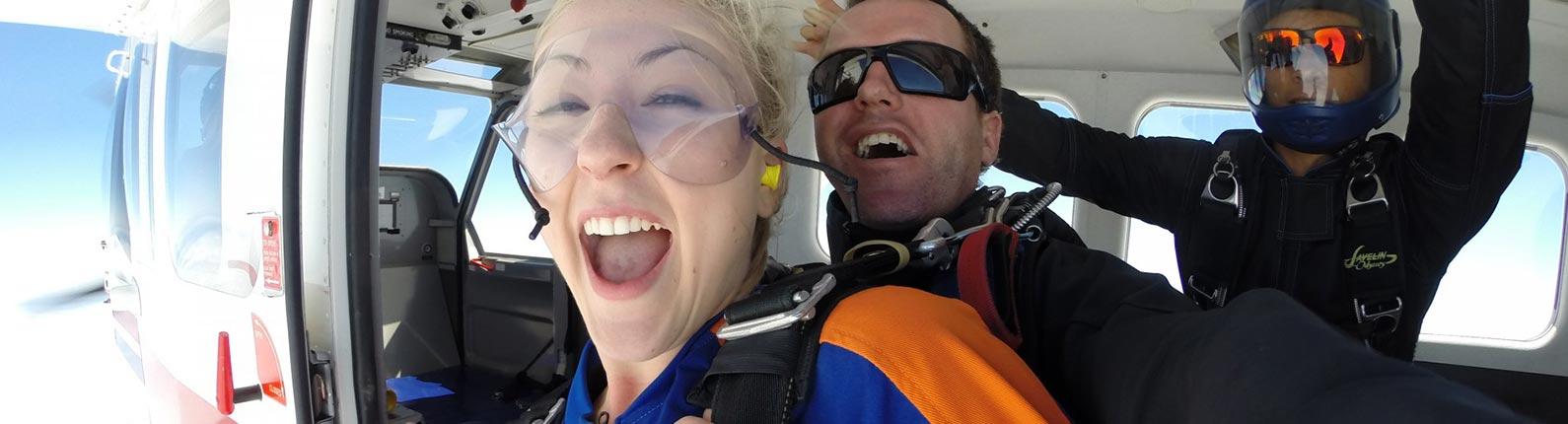 Skydiving Over Australia
