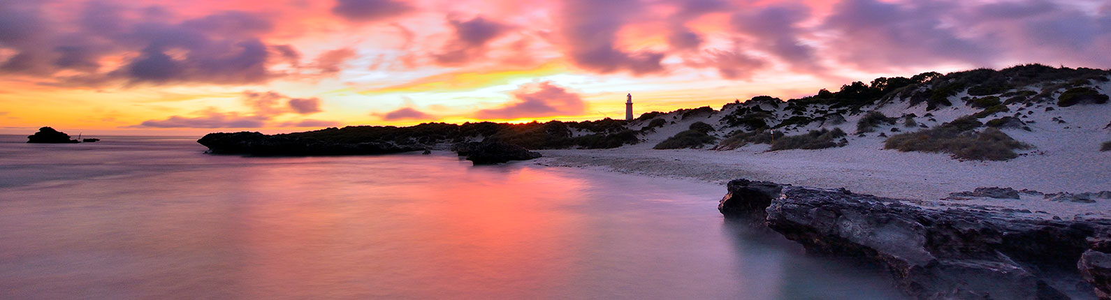 Sustainable skydiving at Rottnest Island at sunset