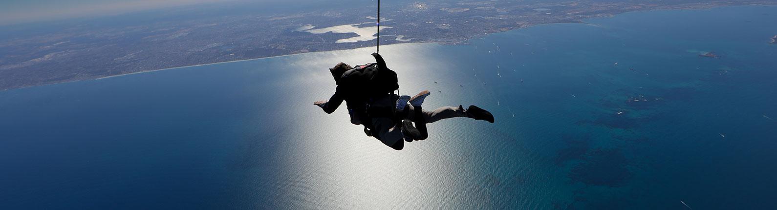 Parachuting Over Rotto