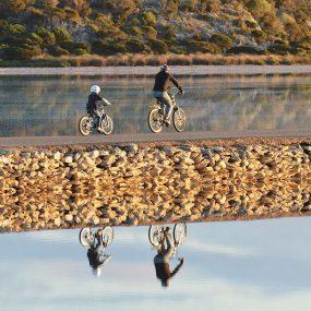 Bicycling on Rottnest Island