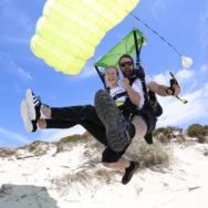 Beach Skydiving