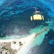 Parachuting Rottnest. Skydiving on fathers day
