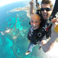 Parachuting Rottnest Island